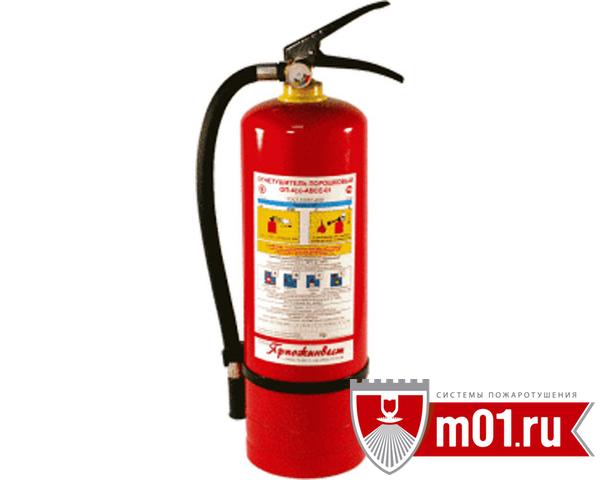 ОП-4(з) АВСЕ огнетушитель порошковый переносной