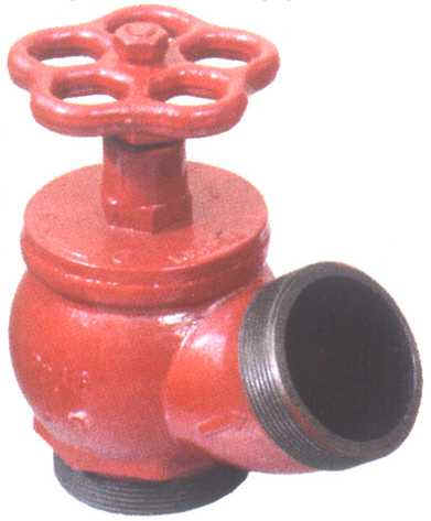 Клапан пожарный ду50 латунь муфта-цапка