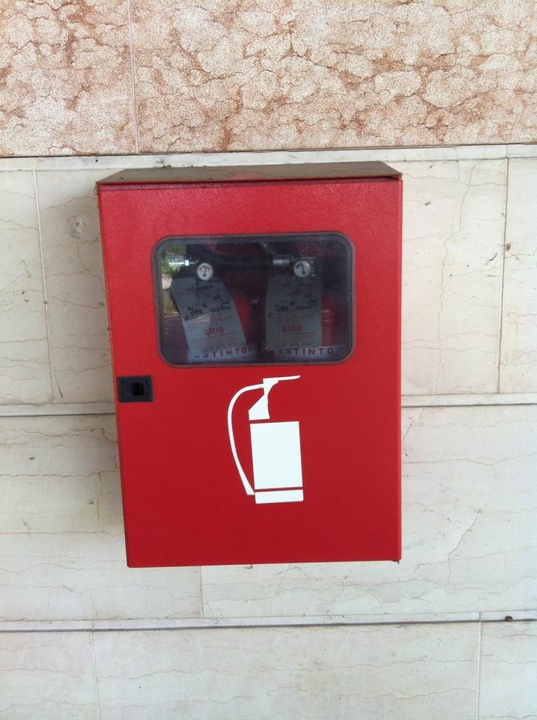Шкаф размещения огнетушителей