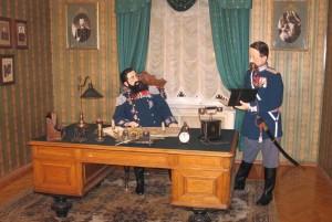 Музей пожарной охраны Санкт-Петербурга. Экспозиция в кабинете Брандмайора