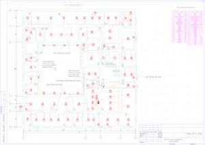 План расположения оборудования пожарной сигнализации