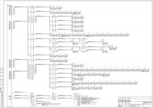 Схема подключения оборудования пожарной сигнализации