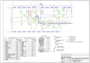 Система оповещения. Размещение оборудования и кабельных проводок