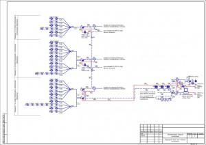 Структурная схема АПС