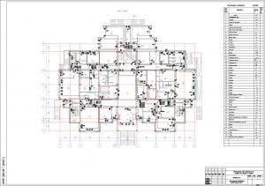 План расположения оборудования и прокладки кабельных трасс
