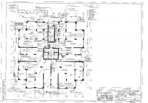 План сетей АДУ на 1 этаже