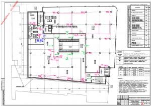 План расположения оборудования оповещения