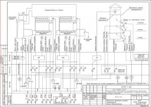 Схема автоматизации приточно-вытяжной вентиляции