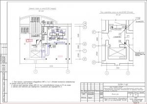 План расположения оборудования КИП