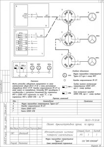 Схема электрическая подключений