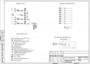 Проект периметральной сигнализации и видеонаблюдения территории производственной базы.