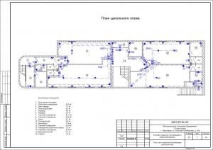План расположения оборудования ОТС