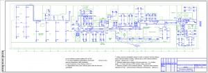 План расположения оборудования и прокладки кабельных линий