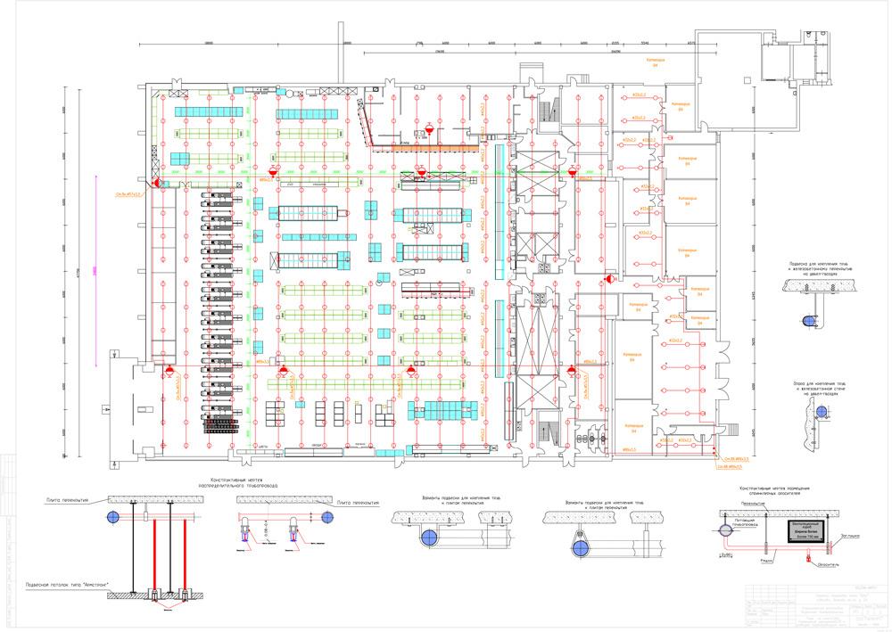 План прокладки трубопроводов