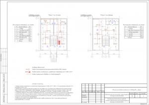 План расположения оборудования пожарной сигнализации и пожаротушения