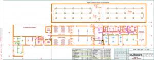 План АПС в защищаемых помещениях