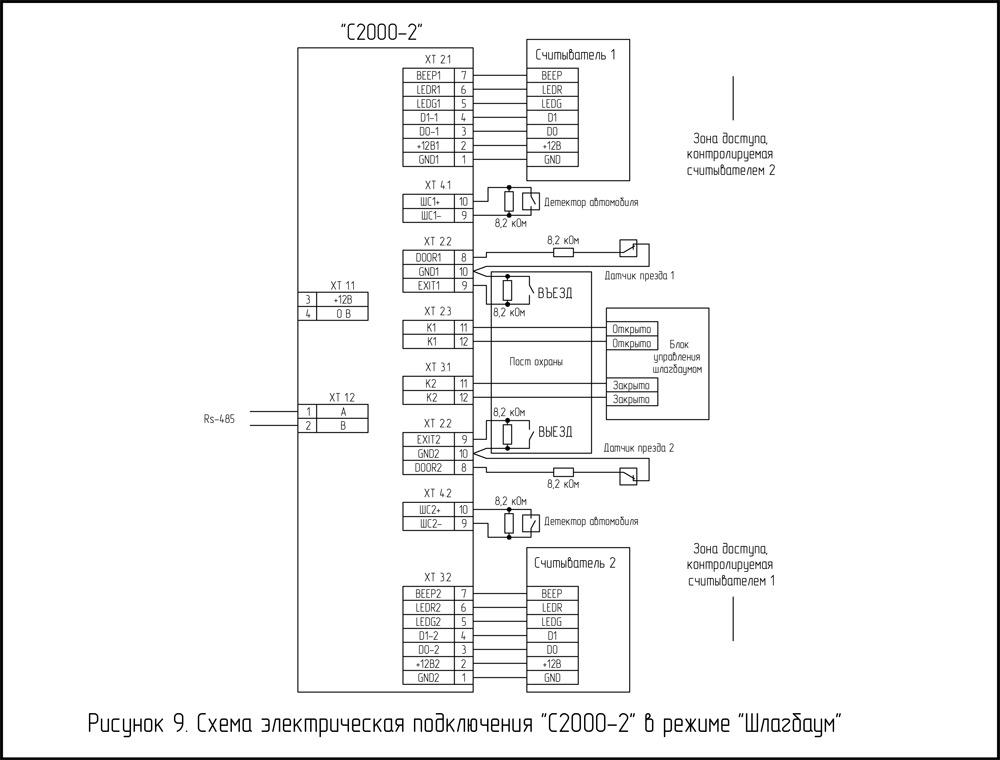 Принципиальная электрическая схема dwg