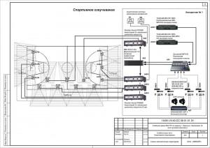 Структурная схема системы озвучивания