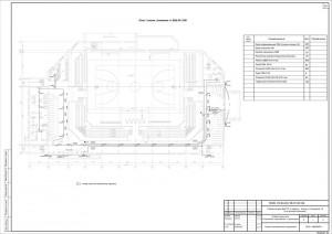 План кабельных трасс и оборудования