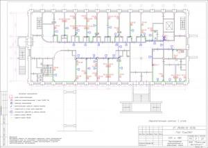План прокладки кабельных трасс
