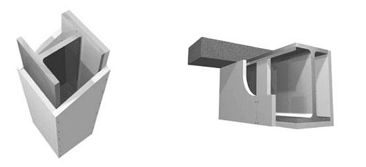 Бескаркарсная обшивка металлоконструкций листами ГЛАСРОК