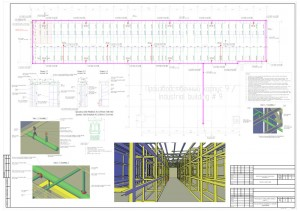 План прокладки трубопроводов. Узлы