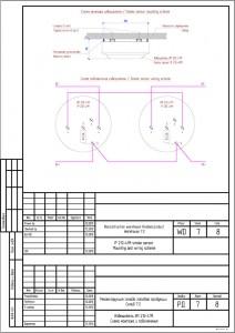 Дымовой извещатель. Схема монтажа и подключения