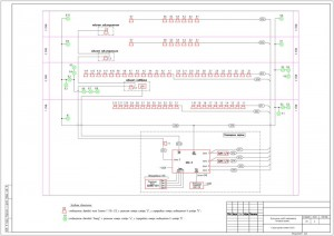 Структурная схема системы оповещения