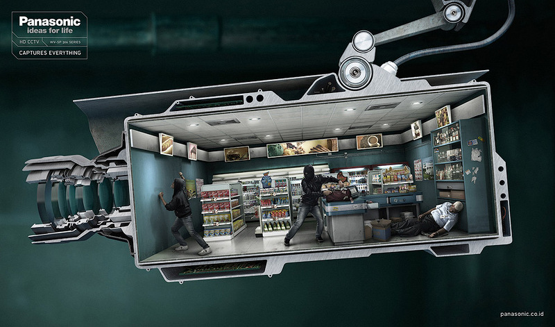 Реклама телекамер Panasonic