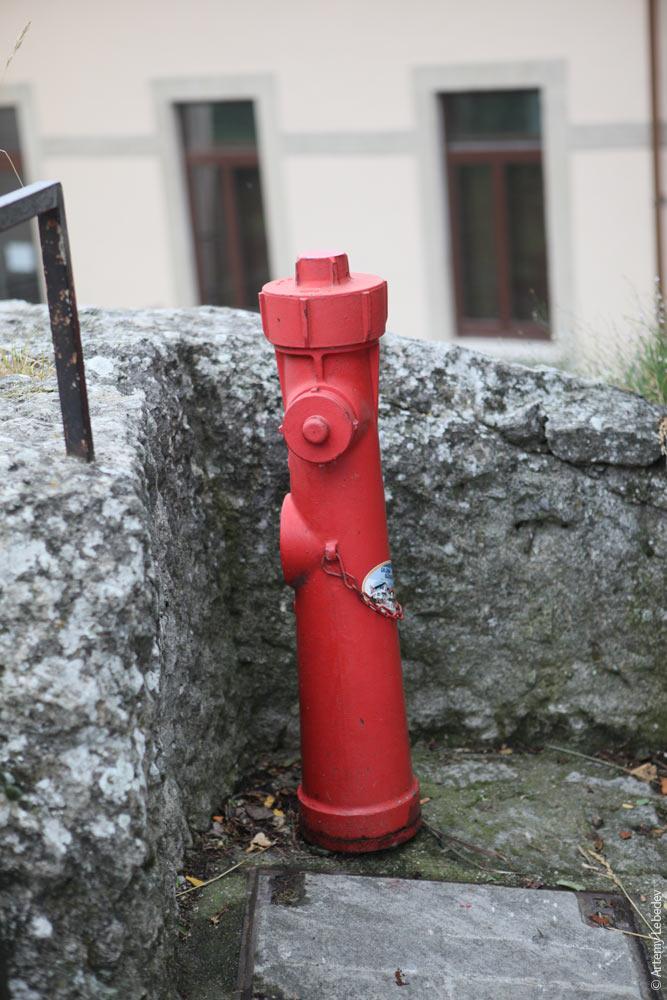 Пожарный гидрант. Сан-Марино