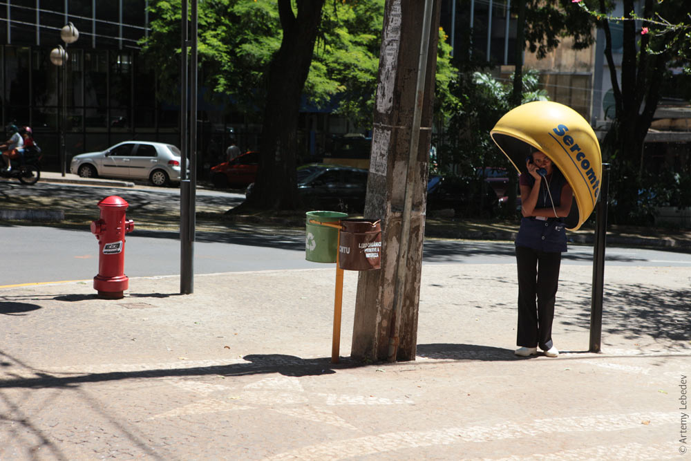 Пожарный гидрант. Бразилия