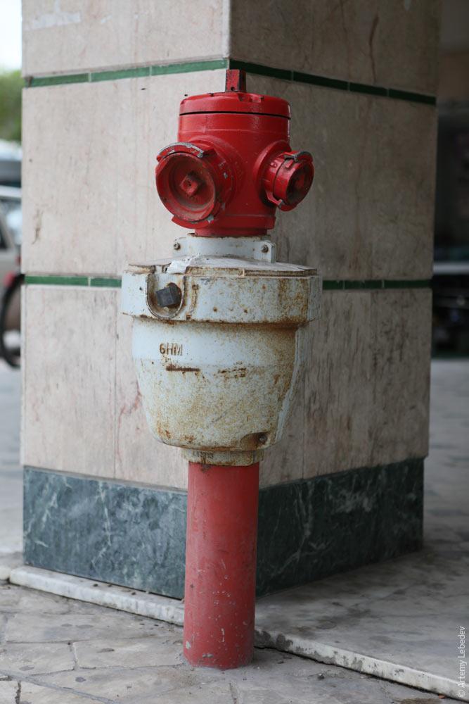 Пожарный гидрант. Тунис