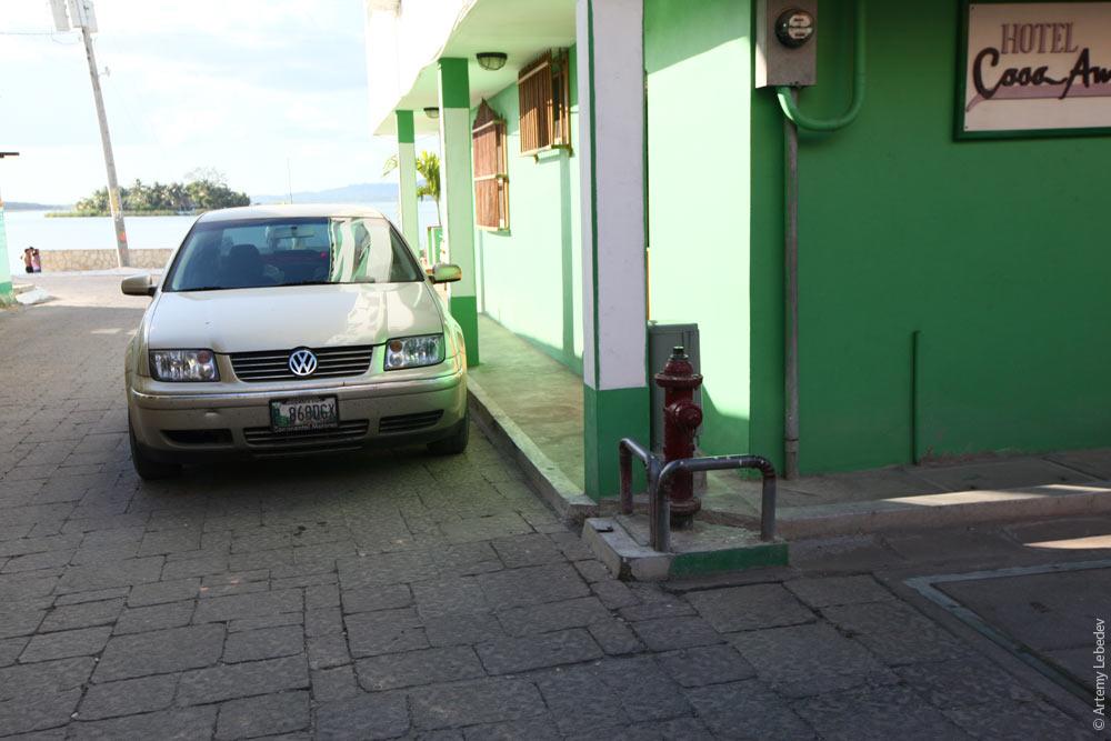 Пожарный гидрант. Гватемала