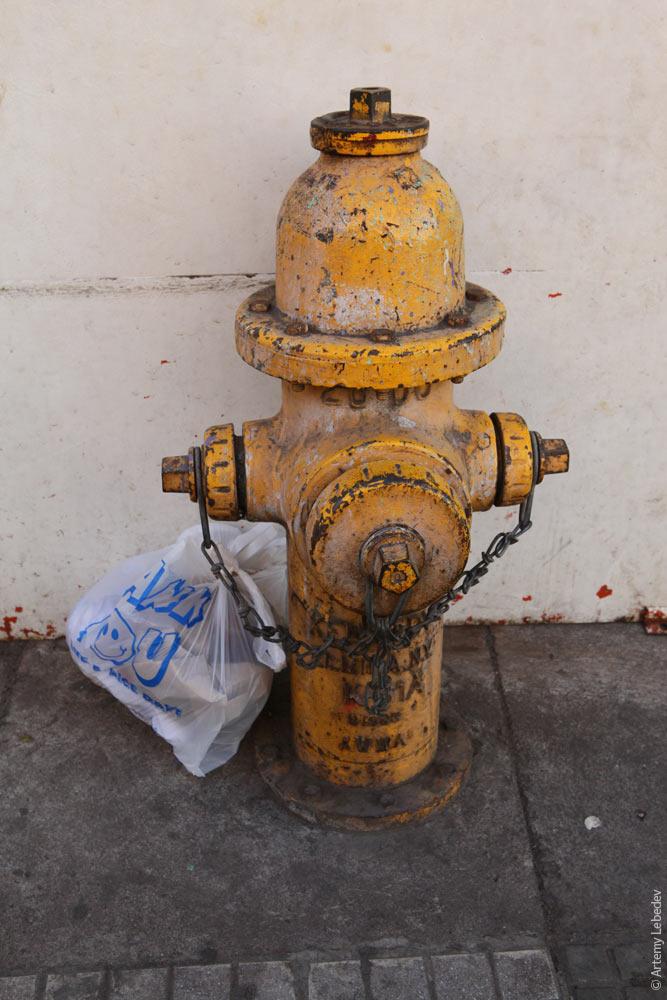 Пожарный гидрант. Гондурас