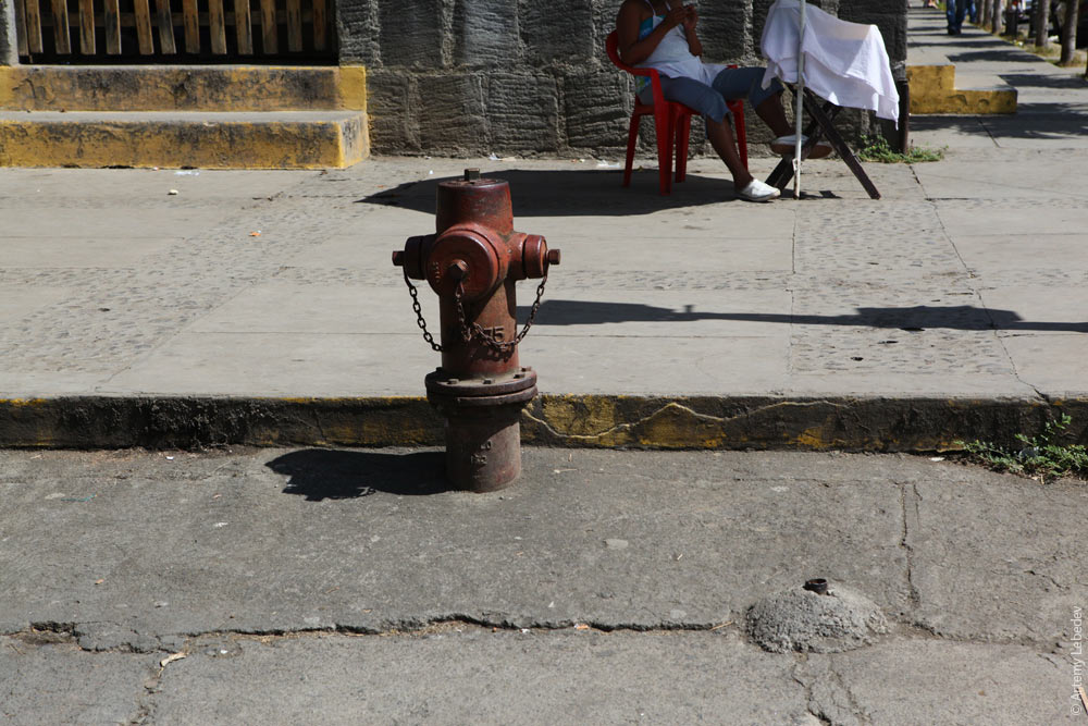 Пожарный гидрант. Никарагуа