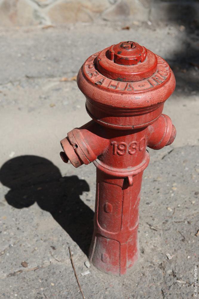 Пожарный гидрант. Ужгород, Украина