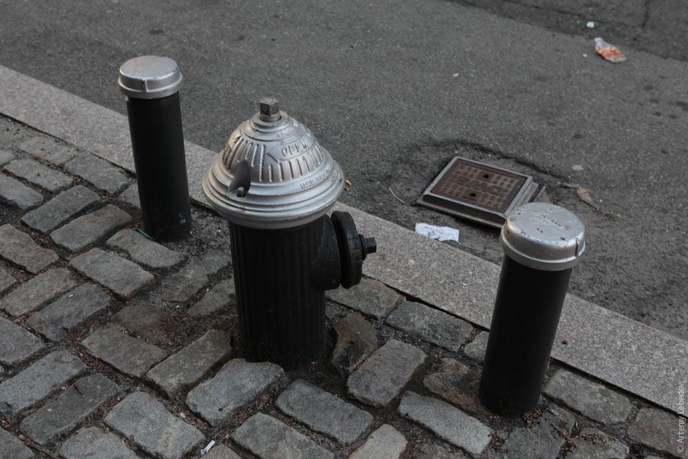 Пожарный гидрант. Нью-Йорк, США