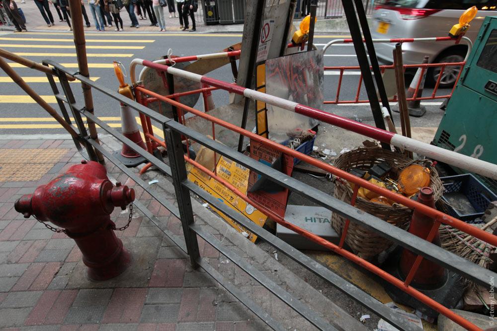 Пожарный гидрант. Гонконг