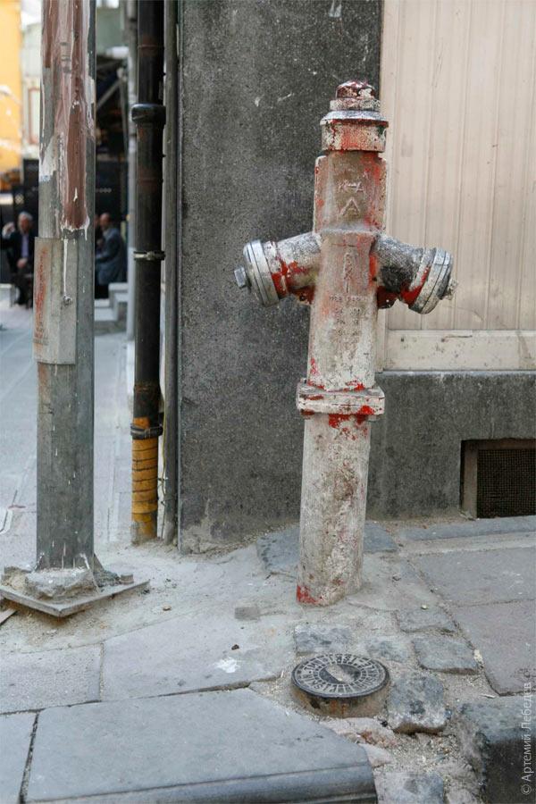 Пожарный гидрант. Стамбул, Турция