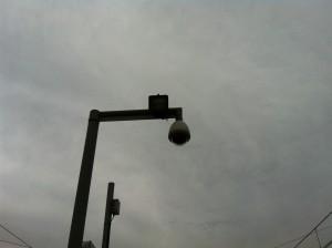 Поворотная купольная камера на вокзале в Бланесе