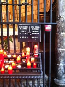 Ручник в кафедральном соборе Барселоны