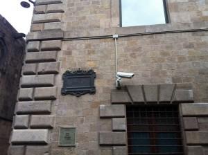 Телекамера наблюдения. Барселона