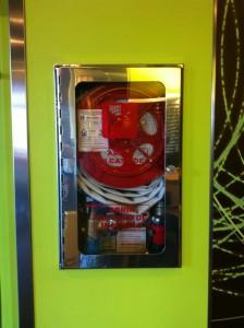 Пожарный кран в МакДаке, Барселона