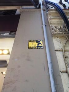 Знак оснащенности охранной сигнализацией