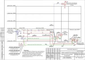Структурная схема установки автоматизации дымоудаления