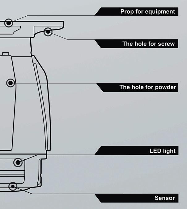 Схема основных элементов модуля