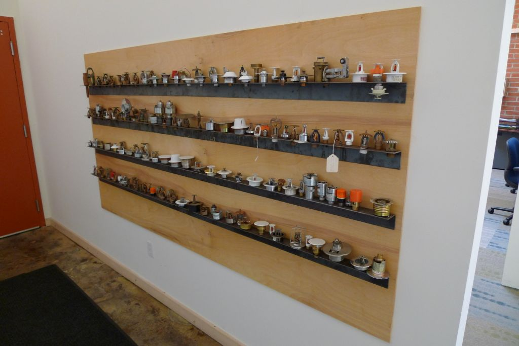 Коллекция спринклерных оросителей из США