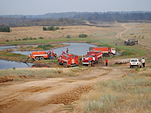 Пожарный водоем