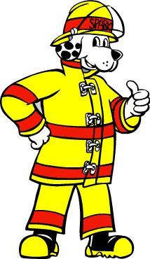 Пес Спарки - символ пожарной охраны США