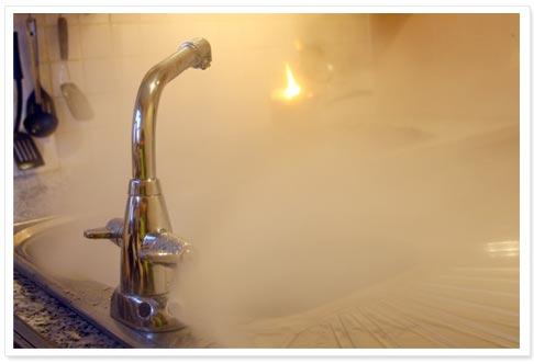 Компактная система пожаротушения для кухни Automist